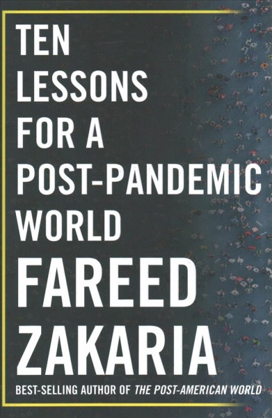 Ten lessons for a post-pandemic world - book jacket image