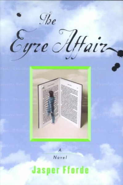 The Eyre Affair book cover