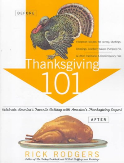 Thanksgiving 101 book cover