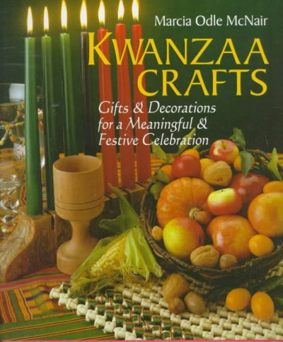 Kwanzaa Crafts book cover