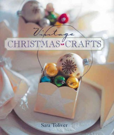 Vintage Christmas Crafts book cover