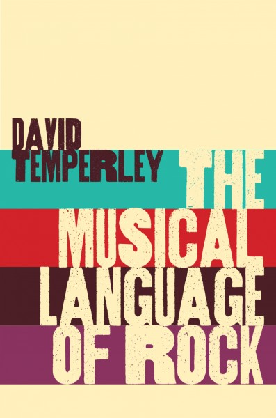 Image of book cover:  Musical Language of Rock