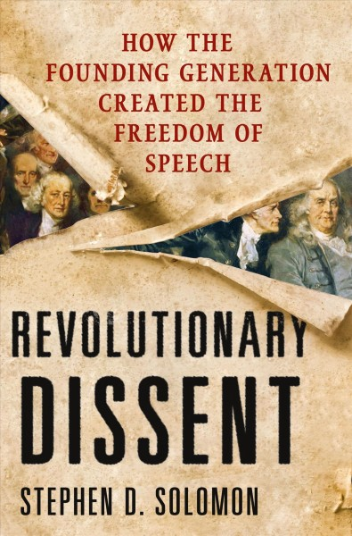 Revolutionary Dissent book cover
