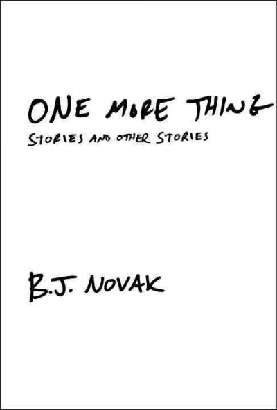 One More Thing