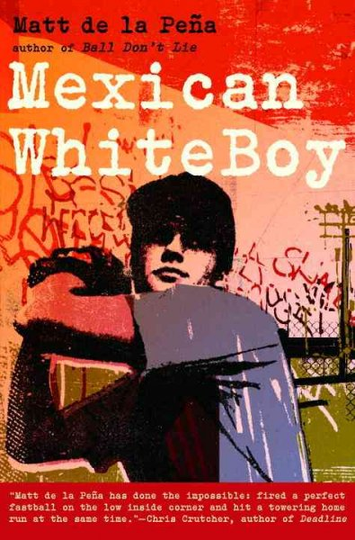 Image of boy with baseball cap and baseball glove winding up to pitch-book cover