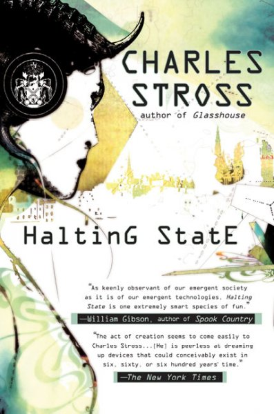 Halting State book cover