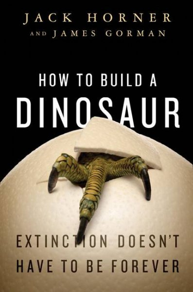 How to Build a Dinosaur book cover