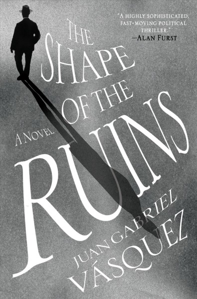 Image of man casting long shadow--book cover
