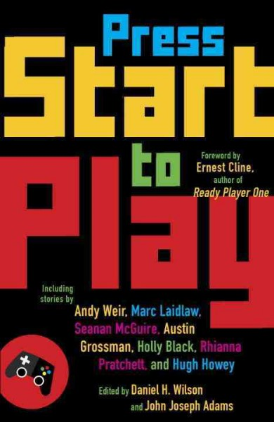 Press Start to Play book cover
