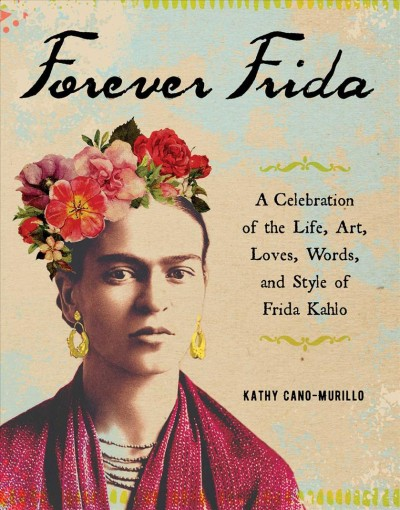 Image of Frida Kahlo--book cover