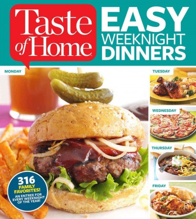 Easy Weeknight Dinners - Taste of Home