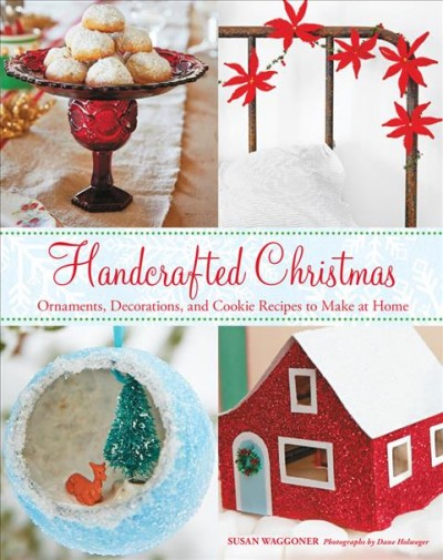 Handcrafted Christmas book