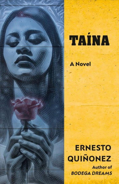 Image of young woman holding a rose-book cover