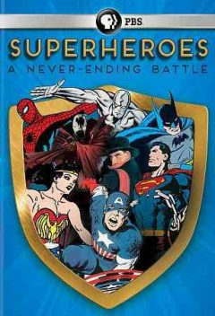 "Cover image for ""Superheroes: A Never-Ending Battle"""
