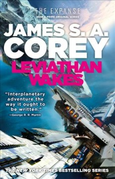"""Cover of the novel """"Leviathan Wakes"""" by James S.A. Corey"""