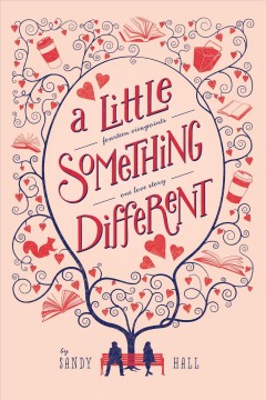 """book cover """"A Little Something Different"""" by Sandy Hall"""