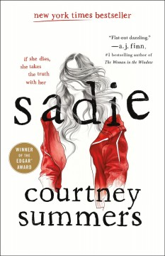 """book cover """"Sadie"""" by Courtney Summers"""
