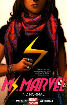 Ms. Marvel book cover