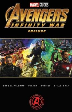Avengers Infinity War Prelude book cover